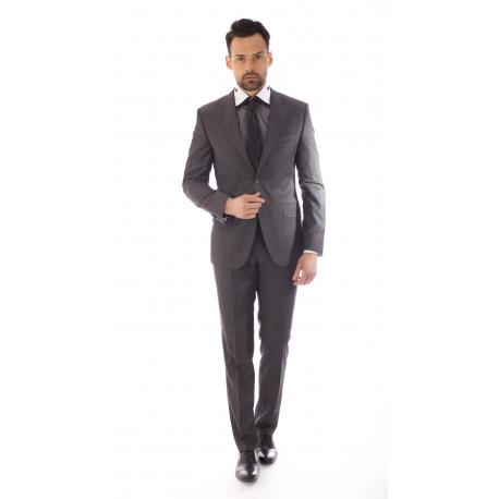 Costume Cloth Dormeuil Couleur DK gris