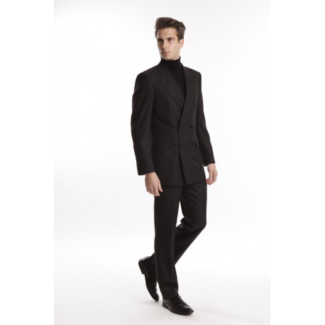 Costume RONCENNI Croisé Noir
